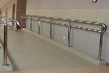 Balustrada podjazd dla niepełnosprawnych