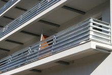 Balustrady balkonowe Warszawa ul. Ostródzka