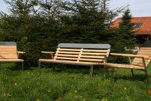 Krzesła i ławeczka Nidzica