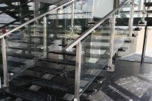 Balustrady schodowe Terespol biurowiec