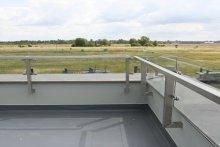Balustrady dachowe Biurowiec Terespol