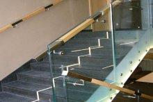 Balustrady schodowe szkło samonośne Suwałki hotel